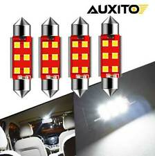 4x 6411 560 569 578 211 2 42mm Led Interior Light Dome Trunk License Plate Bulb