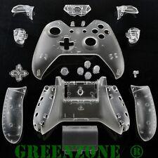 Clear Xbox Controller Personalizzato di ricambio One Guscio con Bottoni KIT MOD