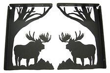 Moose Shelf Bracket Set