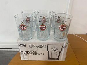 6 verres RHUM HAVANA CLUB 34 CL neufs
