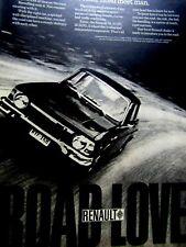 """1970 Renault 10 ROAD LOVE  Original Print Ad 8.5 x 11"""""""