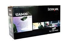 Original  LEXMARK 12A8420 Toner für T430 T430D T430DN   12A8644  12A8425 A-Ware