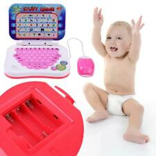 Bilingual Early Educational Learning Machine Kids Laptop Toys Gifts with Mouse