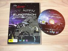 THE SECRET HISTORY OF EUROVISION SONG CONTEST DVD PAL MINT