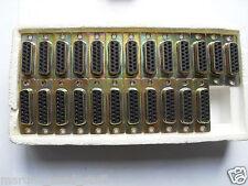 15 Pin prese di tipo D PCB Mount