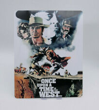 ONCE UPON A TIME IN THE WEST - Glossy Bluray Steelbook Magnet Cover (NOT LENTI)