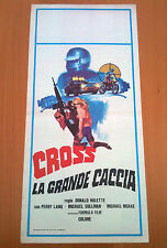CROSS LA GRANDE CACCIA locandina poster A Great Ride Perry Lang Moto-Cross Z24