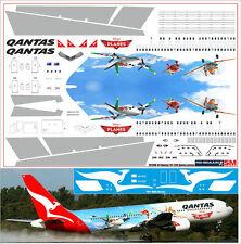1/144 PAS-DECALS Boeing Revell Zvezda Boeing 767-300 Qantas Planes Disney