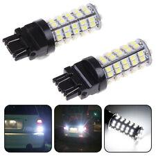 2Pcs White 3157 3156 Car Reverse Light Backup 68-SMD LED Bulb Lights 3057 3 US