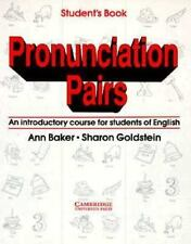 Pronunciation Pairs:  An Introductory Course for Students of English  -ExLibrary