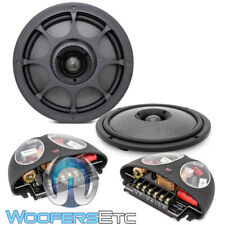 "MOREL VIRTUS NANO INTEGRA 602 CARBON 6.5"" 2WAY SILK TWEETERS SPEAKERS CROSSOVERS"