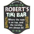Tiki Bar Personalized Pub Sign