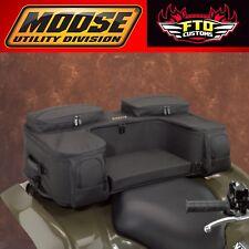 MOOSE Utility Division ATV Ozark Rear Rack Luggage Bag Black 3505-0212