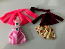 Monster High Doll beautiful handmade skirt set clothes 2 outfits lot