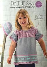 KNITTING PATTERN Girls Fish Tunic & Hat Set Stylecraft Seaside Childrens PATTERN
