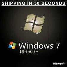 Microsoft Windows 7 Ultimate - Multilanguage - 32/64bit Original 100%