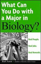 NEW - What Can You Do with a Major in Biology? by Astor, Bart