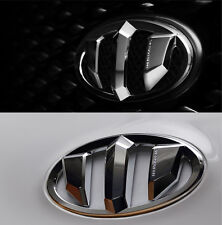Brenthon Hood Trunk Lid Emblem 2p for 2015 2017 Hyundai Azera Grandeur HG