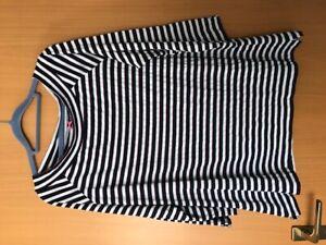 Bonita Shirt Gr.XL 46/48 -  blau/pink/wollweiß gestreift
