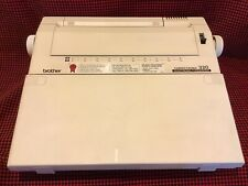 Brother 320 Electronic Typewriter Correctronic portable Excellent Clean Cond.