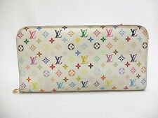 Authentic LOUIS VUITTON Long Wallet Monogram Multi Color Insolite M93751
