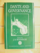 Dante and Governance by J. R. Woodhouse (Hardcover, 1997)