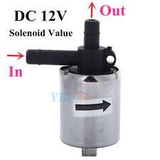 6mm 12V DC Plastique Electrovanne Valve Normalement Fermé N/C Pour Air Eau Gaz