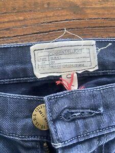CURRENT ELLIOTT Ankle Skinny Jeans in Grey Blue Leopard Print | NWOT | 27