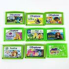 LOT OF (9) LEAPFROG EXPLORER LEAPPAD GAME CARTRIDGES - TESTED AND WORKING