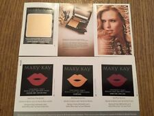 ALL THINGS GLAMOROUS - SAMPLE CARD - LIPSTICK AND SHIMMER POWDER