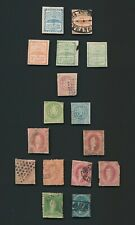 ARGENTINA STAMPS 1858-1867 CONFED & REPUBLIC TO 15c RIVEDEVIA