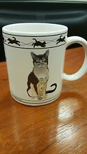Jdt Cat Lovers Limited Collectable Cats Turkish Van & Chartreux Cat Mug Cup B1