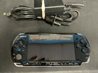 Sony PSP 3000 Entertainment Pack Piano Black Handheld System New Battery