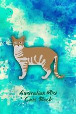 Australian Mist Cats Rock: Pocket Gift Notebook for Cat and Kitty Lovers by Crit