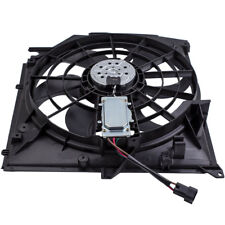 Front Cooling Fan 3 Pins for BMW 3 Series E46 320 td 6 Fan Blades1998-2007