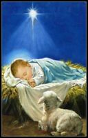 Holy Child Jesus - Chart Counted Cross Stitch Pattern Needlework Xstitch DIY