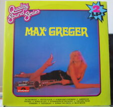 MAX GREGER  QUALITY SOUND SERIES COMPIL' SEXY COVER DOUBLE HOLLAND PRESS LP