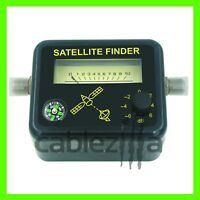 Satellite Finder,Signal Strength Meter, FTA DIRECTV Dish alignment COMPASS