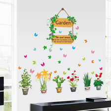 Art Decals Kids Plants Bedroom Removable Wall Sticker Mural Decor