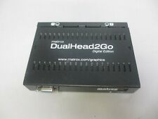 Matrox D2G-A2D-IF DualHead2Go Digital Edition External Graphics eXpansion Module