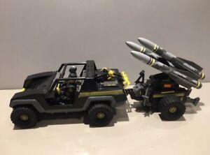 Action Force 1982 SAS Panther M.M.S Trailer & Missiles & Figures Bundle Palitoy