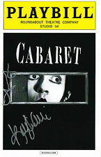 Cabaret Revival Kit Kat Club Girls SIGNED FINAL SHOW Playbill COA