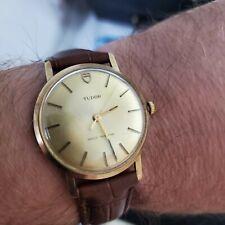 Men's Vintage .375 9ct Gold Manual Winding Rolex Tudor