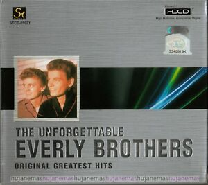 EVERLY BROTHERS The Unforgettable SINGAPORE 24BIT CD + LYRIC BOOKLET RARE NEW