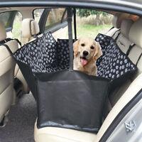 Housse siège voiture pour animaux  Chien Tapis sécurité Coussin Arrière CWBR