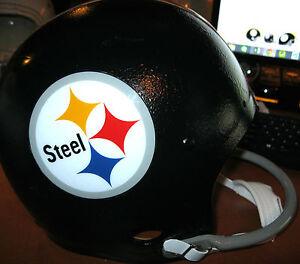 """PITTSBURGH STEELERS NFL Bert Bell Benefit Bowl 1963 """"Steel"""" Logo HELMET(Medium)"""