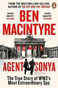 PRE-ORDER: Agent Sonya by Ben MacIntyre