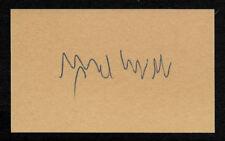 Hans-Ulrich Rudel Stuka Ace Autograph Reprint On Original Period 1940s 3X5 Card
