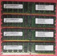 Fujitsu Sun Micron 8GB (4GBx2) Ram DDR2 PC2-5300 Ram For Sun Server CA06620-D414