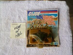 Vintage 1983 GI Joe ERROR (Flak) on (HAL) Card. Diecast Hasbro/Aviva NEW